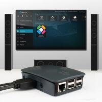 Sada Raspberry Pi 3 se systémem LibreELEC (KODI) HDMI, černá