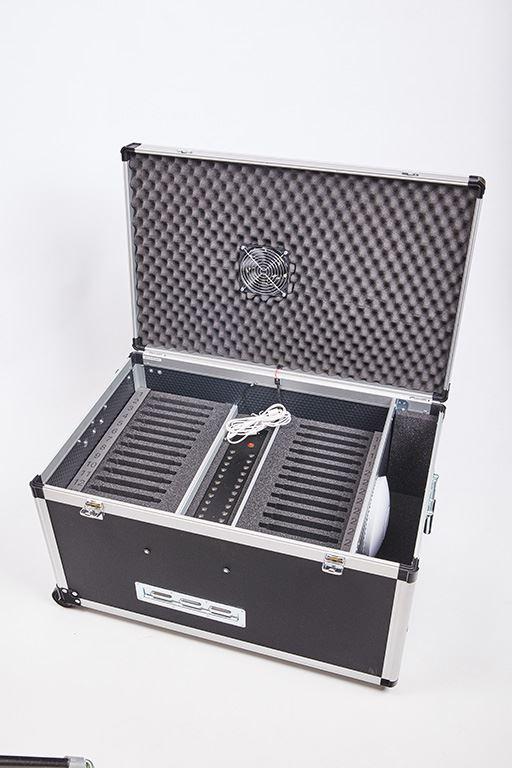 BSkufr pro 10 notebooků, 10x230V