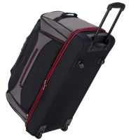"""Cestovní taška na kolečkách SIROCCO T-7554/30"""" - černá/šedá/červená"""