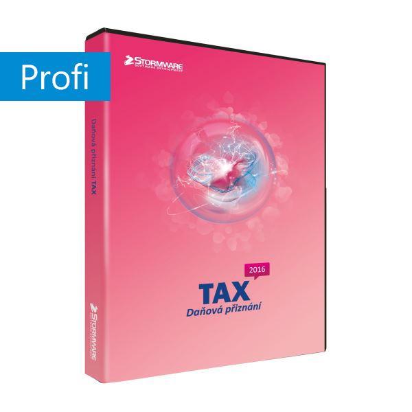 TAX 2017 Profi MLP - nesíťová přídavná licence pro další počítač