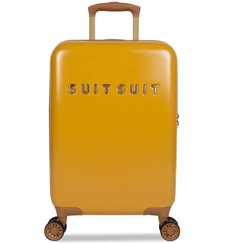 Kabinové zavazadlo SUITSUIT® TR-7107/3-S - Fab Seventies Lemon Curry