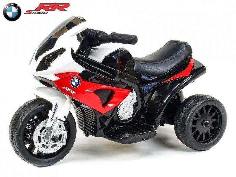 Elektrická motorka pro děti Trike BWM S1000RR, červená
