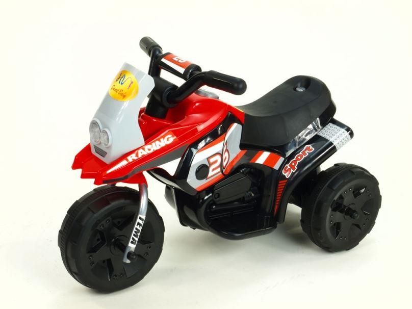 Elektrická motorka pro děti Racing sport, červená