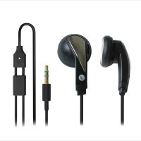 Minisluchátka, pecková, černá, Superbass sound, 18