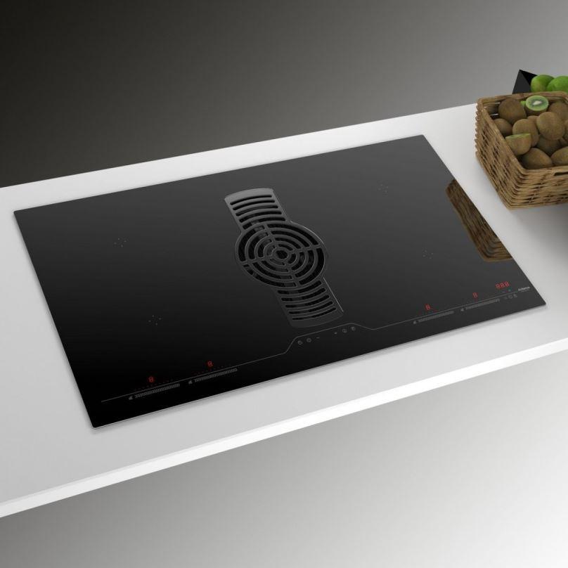 Digestoř integrovaná do indukční varné desky AirForce Hybrid 90 G5 Flex + záruka 5 let!