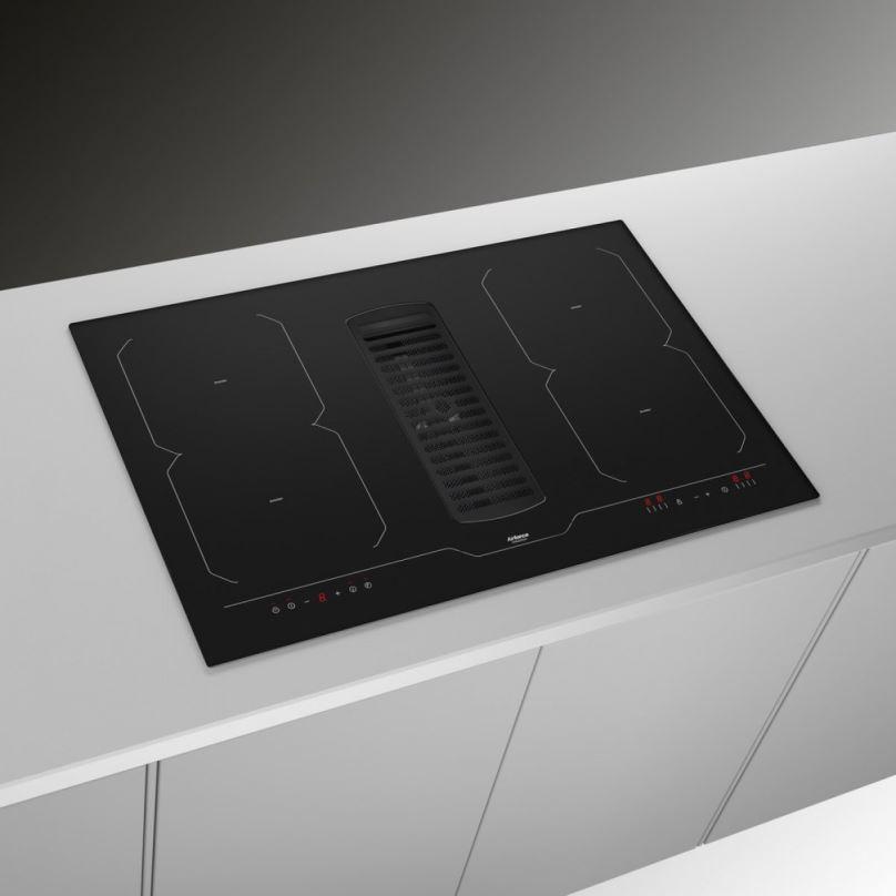 Digestoř integrovaná do indukční varné desky AirForce Centrale 78 B2 Octa + záruka 5 let!