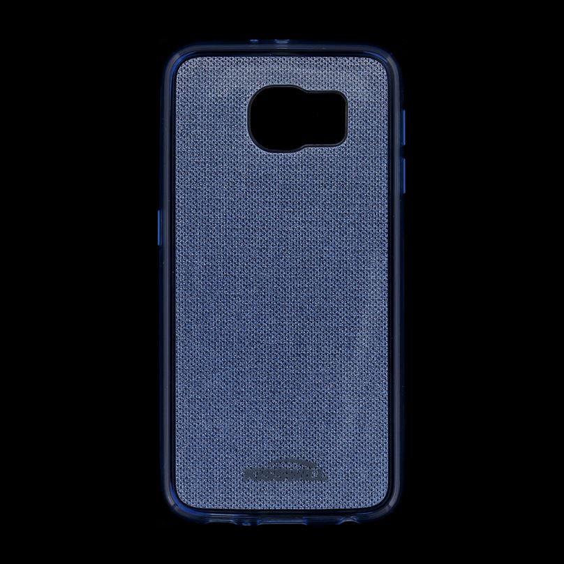 Kisswill TPU Shine Pouzdro Blue pro Samsung G920 Galaxy S6