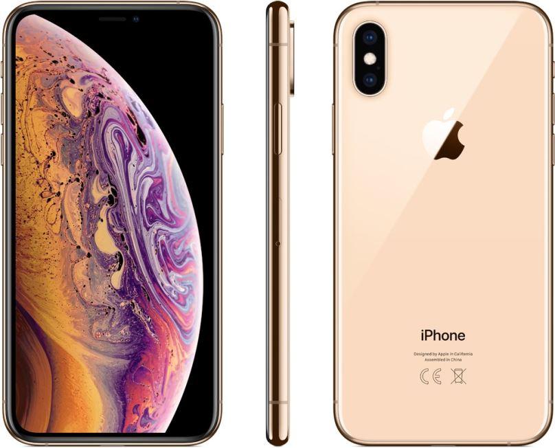 Repasovaný iPhone Xs 64GB Gold