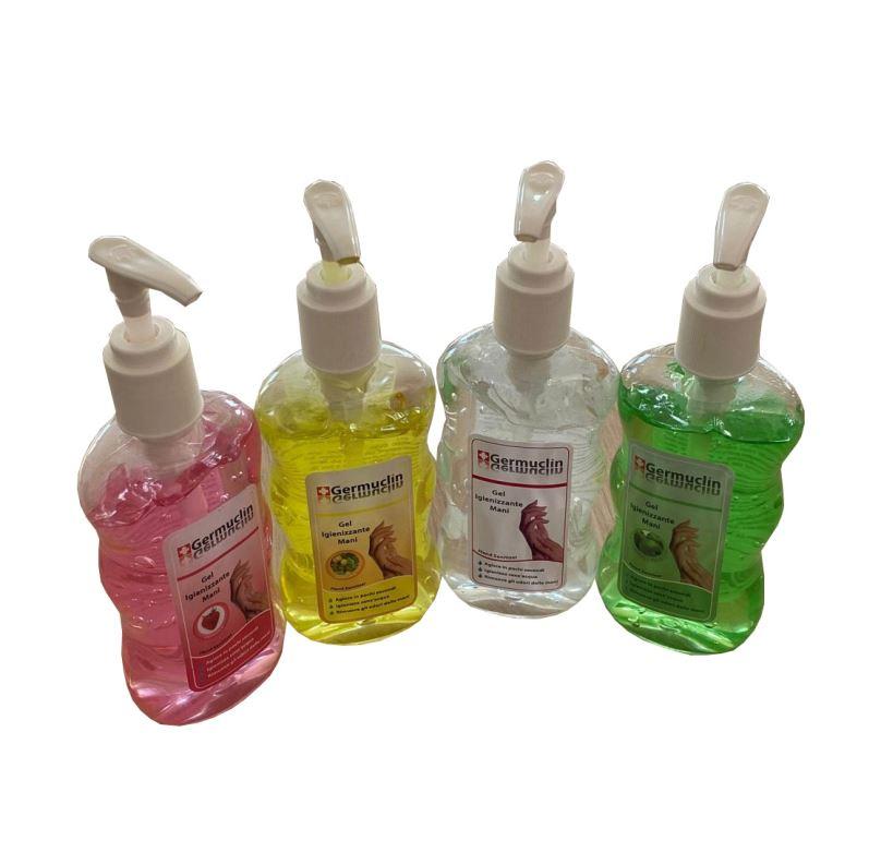 Dezinfekční gel na ruce 240ml - růžová