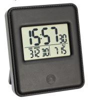 Digitální budík s hodinami řízenými DCF signálem TFA 60.2534.01 - černý
