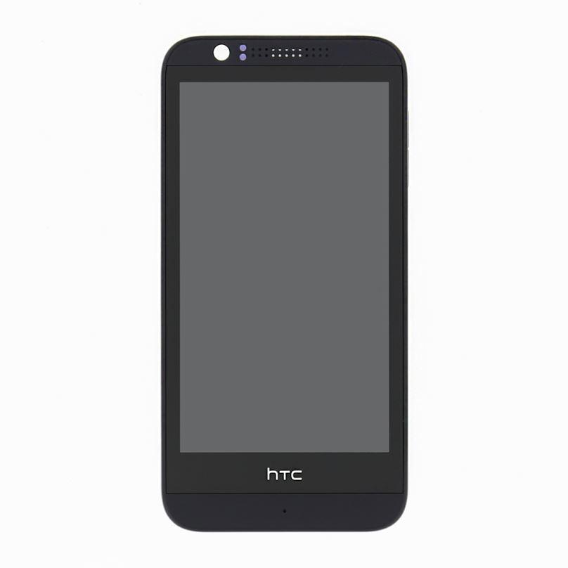 LCD Display + Dotyková Deska + Přední Kryt  HTC Desire 510 Grey