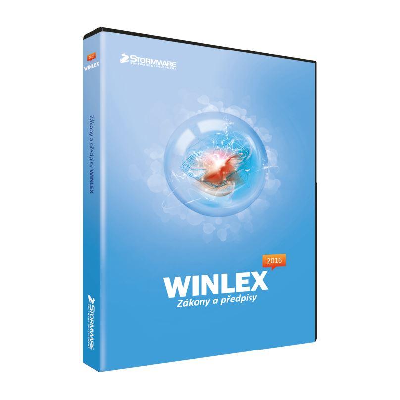 WINLEX 2017 MLP- nesíťová přídavná licence pro 1 počítač