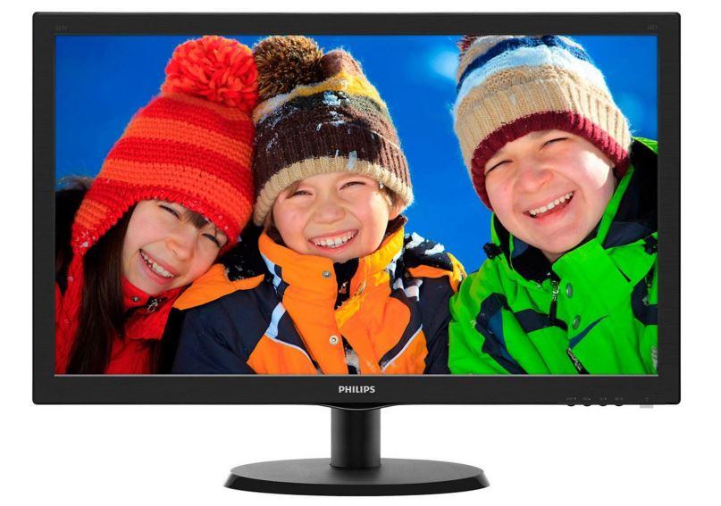 """LCD monitor 21.5"""" Philips 223V5LHSB/00, používaný monitor, 100% stav, záruka 3 měsíce"""