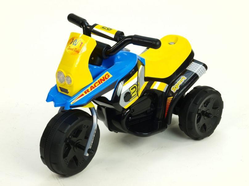 Elektrická motorka pro děti Racing sport, modrá