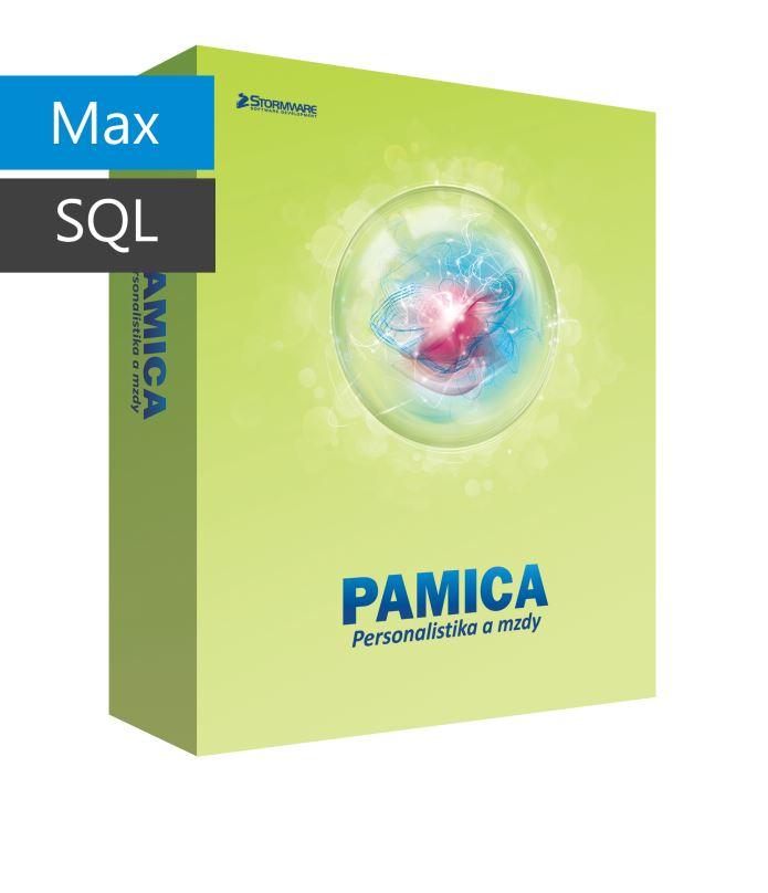 PAMICA 2017 SQL Max - základní licence pro jeden počítač