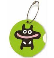 Jmenovka na kufr Addatag - Happy green