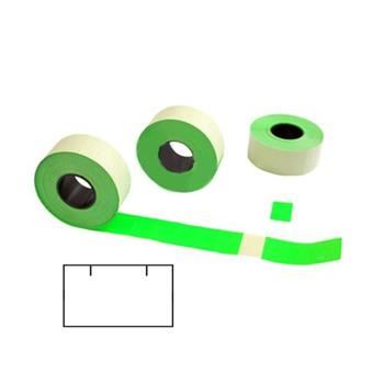 Etikety Contact pro etiketovací kleště 25x16mm, hranaté, zelené