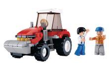 SLUBAN stavebnice Traktor, 103 dílků (kompatibilní s LEGO)