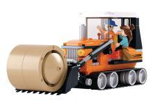 SLUBAN stavebnice Buldozer, 165 dílků (kompatibilní s LEGO)