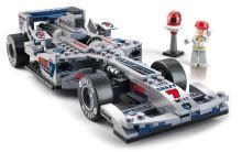 SLUBAN stavebnice Formule F1, 300 dílků (kompatibilní s LEGO)