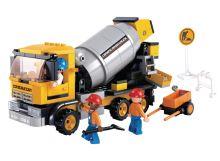 SLUBAN stavebnice Míchačka, 296 dílků (kompatibilní s LEGO)