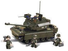 SLUBAN stavebnice Tank, 312 dílků (kompatibilní s LEGO)