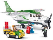 SLUBAN stavebnice Přepravní letadlo, 251 dílků (kompatibilní s LEGO)