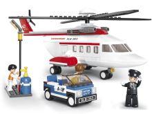 SLUBAN stavebnice Vrtulník, 259 dílků (kompatibilní s LEGO)