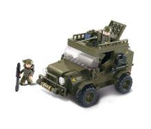 SLUBAN stavebnice SUV, 217 dílků (kompatibilní s LEGO)