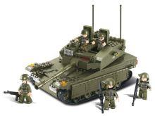 SLUBAN stavebnice Tank, 344 dílků (kompatibilní s LEGO)