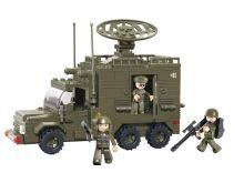 SLUBAN stavebnice Radarový Vůz, 230 dílků (kompatibilní s LEGO)