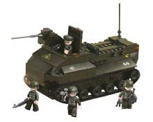 SLUBAN stavebnice Obojživelný Tank, 223 dílků (kompatibilní s LEGO)