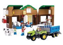 SLUBAN stavebnice Farma, 512 dílků (kompatibilní s LEGO)