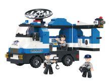 SLUBAN stavebnice Policejní Výzvědná Jednotka, 265 dílků (kompatibilní s LEGO)