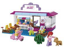 SLUBAN stavebnice Kavárna, 226 dílků (kompatibilní s LEGO)