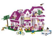 SLUBAN stavebnice Luxusní Vila, 726 dílků (kompatibilní s LEGO)