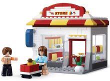 SLUBAN stavebnice Town Community CVS, 186 dílků (kompatibilní s LEGO)