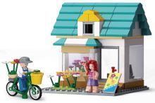 SLUBAN stavebnice Town Flower Shop, 149 dílků (kompatibilní s LEGO)