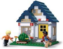 SLUBAN stavebnice Town Tělocvična, 204 dílků (kompatibilní s LEGO)