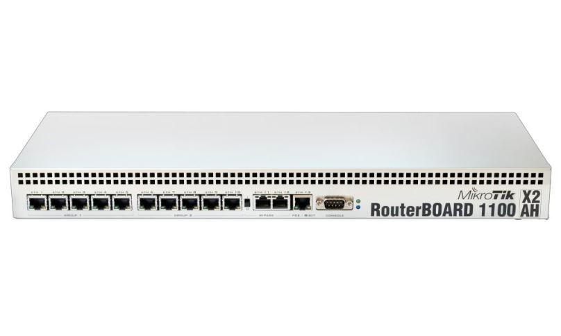Mikrotik RouterBOARD RB1100AHx2 / 2 GB RAM/ Dual Core/ 13x Gigabit LAN/ vč. L6