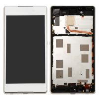 Sony Xperia Z4 LCD + Touch + Frame (Separated) White