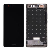 Huawei P9 LCD + Touch + Frame (Separated)  Black
