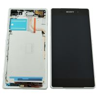 Sony Zperia Z2 (D6503) LCD + Touch + Frame (Separated) White