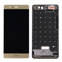 Huawei P9 LCD + Touch + Frame (Separated) Gold