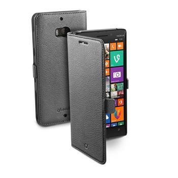 Pouzdro typu kniha CellularLine Book Essential pro Nokia Lumia 930, černé