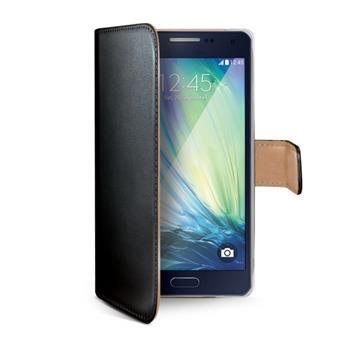 Pouzdro typu kniha CELLY Wally pro Samsung Galaxy A5, PU kůže, černé