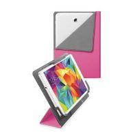 """Univerzální pouzdro se stojánkem CellularLine FLEXY pro tablety Samsung do velikosti 8,4"""", růžové"""