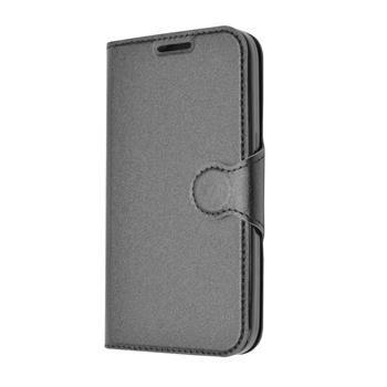Pouzdro typu kniha FIXED s gelovou vaničkou pro Samsung Galaxy Core Prime, G360, černé