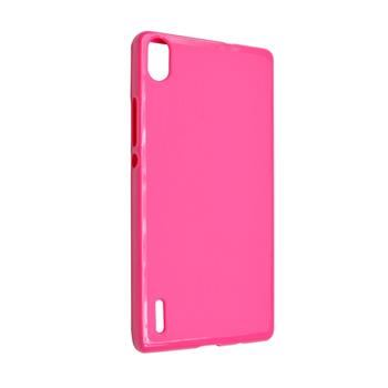TPU gelové pouzdro FIXED pro Huawei Ascend P7, růžové