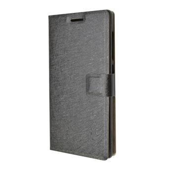 Pouzdro typu kniha FIXED s gelovou vaničkou pro Lenovo Vibe X2, černé